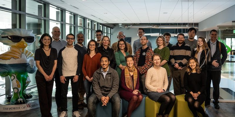 Project leaders in the 8 startups selected for the social impact initiative.